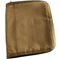 "RITR C9210 All-Weather Cordura 1"" Binder Cover, Tan"