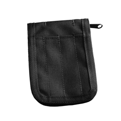 RITR C935B All-Weather Cordura Notebook Cover, Black