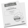 "Rite in the Rain HW8511 All-Weather 100# Card Stock, White, 8.5"" x 11"" - 80 Sheets"