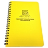 "Rite in the Rain All-Weather Women's Lacrosse Notebook, Yellow, 4 5/8"" x 7"""