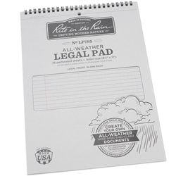 Rite in the Rain LP785 All-Weather Universal Legal Pad, Gray