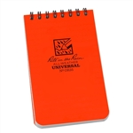 RITR OR35 All-Weather Universal Spiral Notebook, Orange