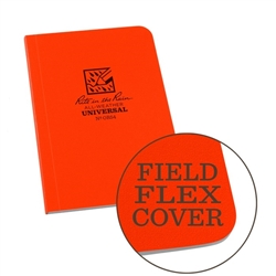 "Rite in the Rain OR54 All-Weather Universal Field-Flex Memo Book, Orange, 3.5"" x 5"""