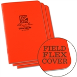 RITR OR71FX All-Weather Universal Stapled Notebooks, Orange