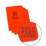 Rite in the Rain OR71FX-M All-Weather Universal Stapled Notebooks, Orange