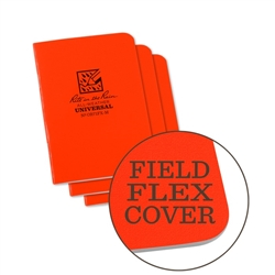 RITR OR71FX-M All-Weather Universal Stapled Notebooks, Orange