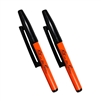 Rite in the Rain OR91 All-Weather Belt-Clip Pens, Orange - Black Ink
