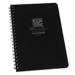 RITR P52 All-Weather Weekly Planner Notebook, Black