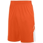 Augusta Orange Alley-Oop Reversible Short