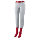 Augusta Ladies Low Rise Homerun Pant-WOMEN'S