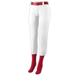 Augusta Ladies Low Rise Homerun Pant-GIRL'S