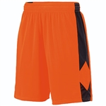 Augusta Style 1715 Orange/Black Block Out Short