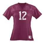 Augusta Girls Junior Fit Replica Football Tee