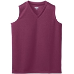 Augusta Girls Wicking Mesh Sleeveless Athletic Jersey - Closeout Item