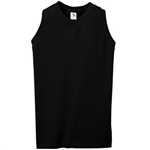 Augusta Girls Sleeveless V-Neck Poly/Cotton Jersey