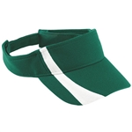 Augusta Adjustable Wicking Mesh Two-color Visor