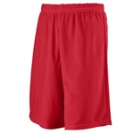 Augusta Youth Longer Length Mini Mesh League Short