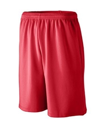 Augusta Longer Length Wicking Short With Pockets