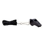 Champro Large Plastic Whistle with Lanyard