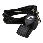 Champro Official's Whistle W/Lanyard and Mouth Cushion