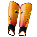 Champro D1 Shin Guard - Orange (pair)