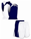 Champro Pro-Plus Reversible Basketball Jersey with Shorts - Custom 1 Color Print
