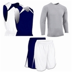 Champro Pro-Plus Reversible Basketball Package (3 items) - Custom 1 Color Print