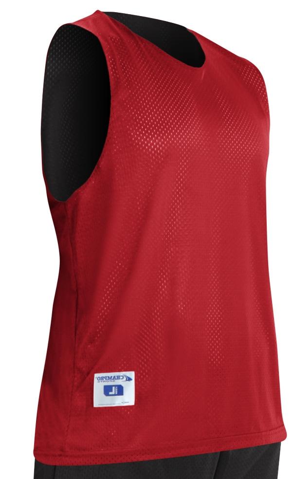 10e6aa419f1 Champro Tricot Single Basketball Jersey - Custom 1 Color Print Larger Photo  ...
