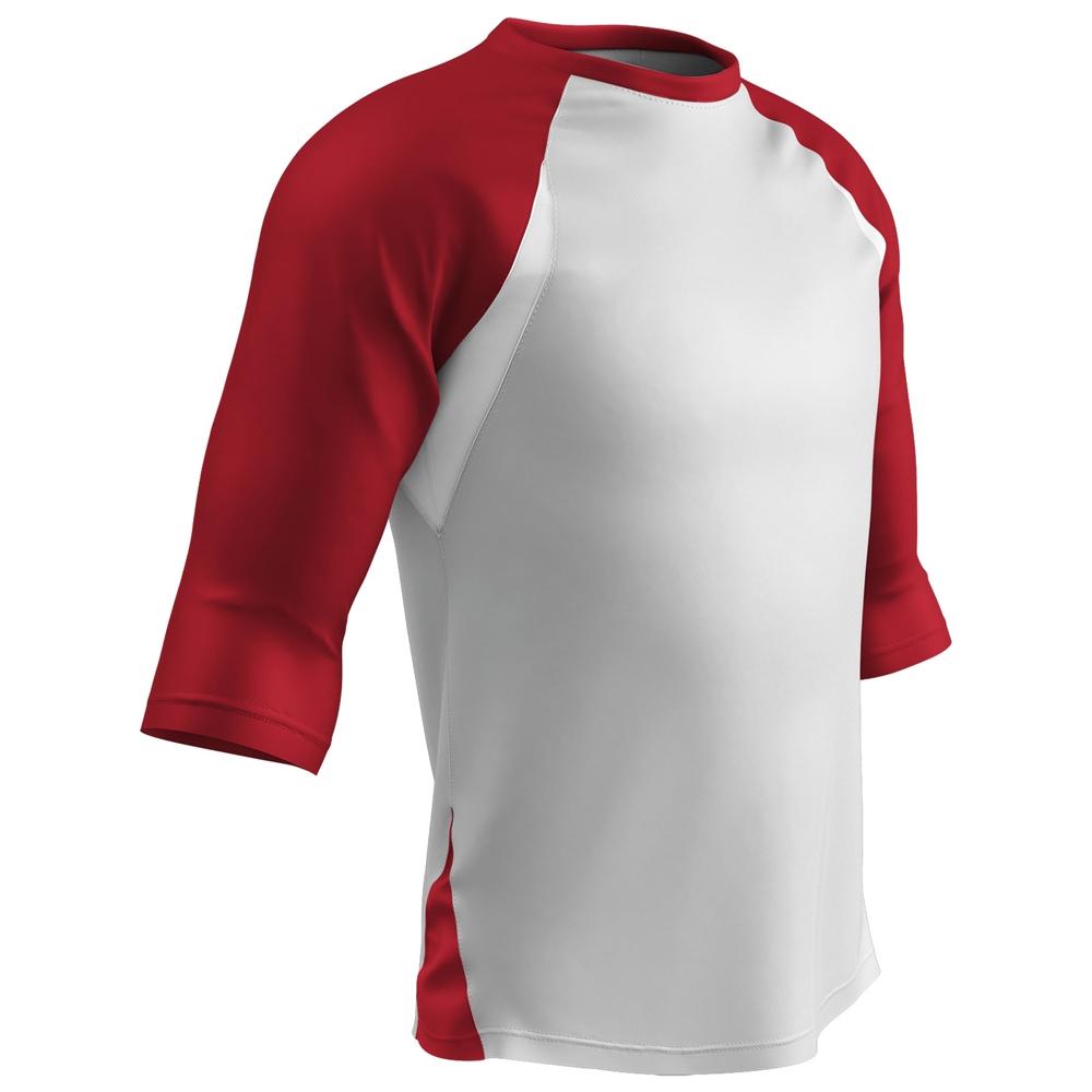half off 43e04 53a73 Champro BS24 3/4-Sleeve Baseball Jersey - Closeout Item
