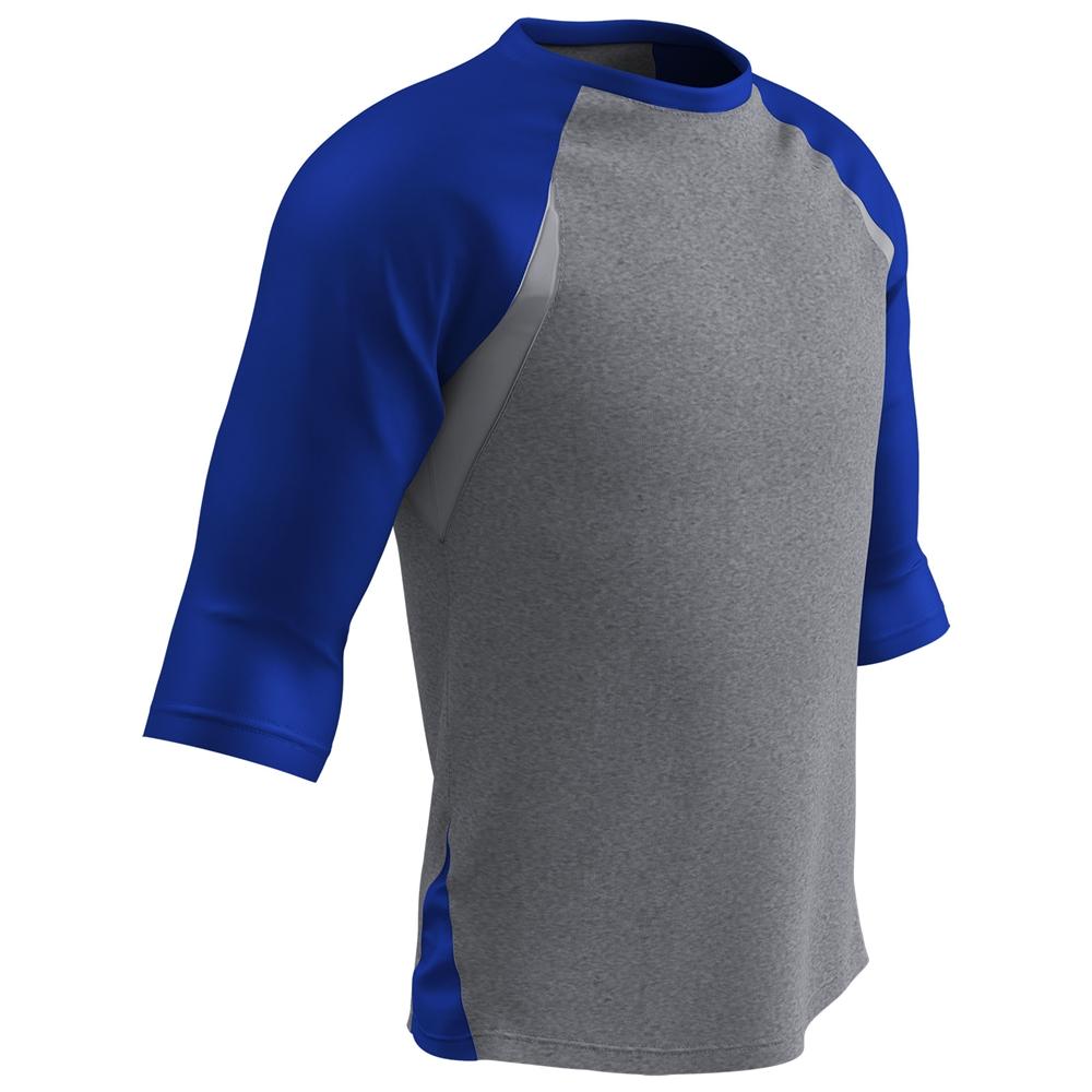Champro Extra Innings 3 4 Sleeve Baseball Shirt Champro