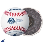 Champro Pony League Baseball- Full Grain Leather Cover