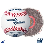 Champro Official League - Double Cushion Cork Core - Full Grain Leather Cover - Flat Seam