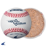 "Champro Youth League-8.5"" Cover/Rubber Core - Genuine Leather Cover"