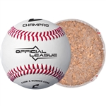 Champro Official League-Cork/Rubber Core- Synthetic Cover