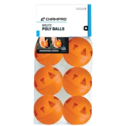 "Champro 9"" Brute Poly Ball - 6 Pack"