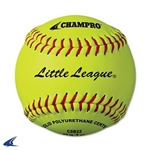 "Champro Little League 12"" Tournament Fast Pitch Softball- Leather Cover"