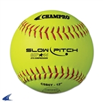 "Champro ASA 12"" Slow Pitch - Durahide Cover .44 Cor"
