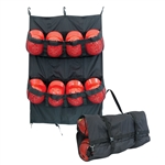 Champro 8 Helmet Fence/Carry Bag-Black