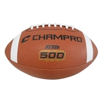 Champro 500 Performance Football is available in Official, Intermediate, Junior, & Pee Wee sizes