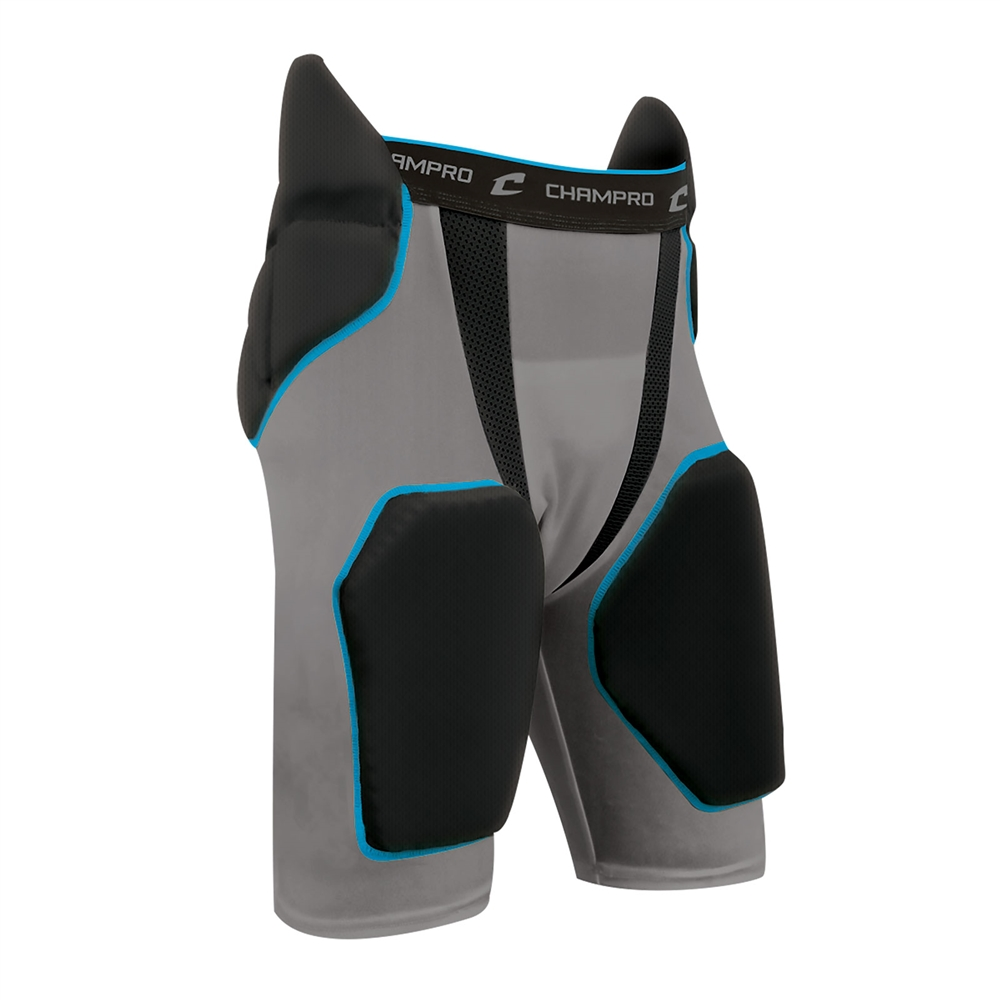 CHAMPRO Safety Integrated Football Practice Pant with Built-in Pads