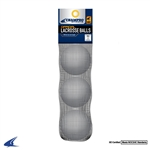 Champro NOCSAE Lacrosse Balls - 3-Pack Retail Packaged - White