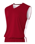 A4 Reversible Moisture Management Muscle V-Neck Jersey