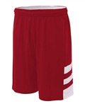 "A4 Reversible Speedway Muscle 10"" Shorts"