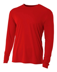 A4 style NB3165 - Youth Cooling Performance Long Sleeve Crew