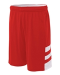 "A4 Reversible Speedway Muscle 8"" Shorts -YOUTH"