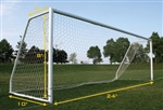 Champro Braided Soccer Goal Net - 4.0mm