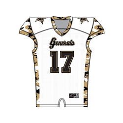 Sublimated Football Uniforms - JUICE