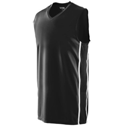 Augusta Sports Mod Camo Game Jersey Youth Large Black//Graphite//White