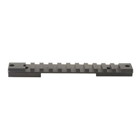 7664-20 Savage Short Action Accu-Trigger Rail, 8-40 screws, 20 MOA, Warne