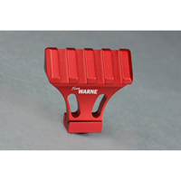 Warne--- A645-R 45-Degree Angle Mounting Rail Red